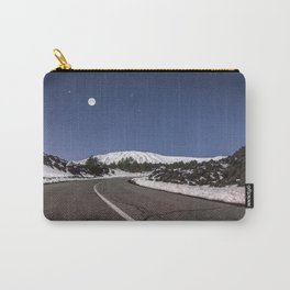 Magic atmosphere at night from Etna Volcano Carry-All Pouch