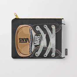 Cute black Vans all star baby shoes apple iPhone 4 4s 5 5s 5c, ipod, ipad, pillow case and tshirt Carry-All Pouch