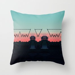 different dimension Throw Pillow