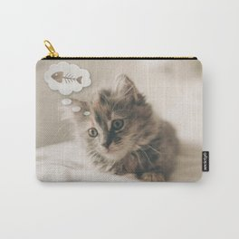 Dreaming Cat Carry-All Pouch