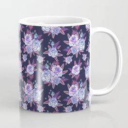 Cosmic blue roses. Coffee Mug