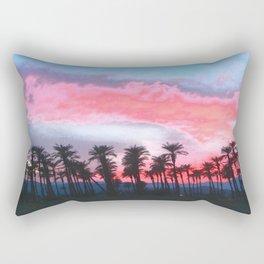 Coachella Sunset Rectangular Pillow