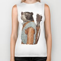 hunter Biker Tanks featuring HUNTER by Animal Crew