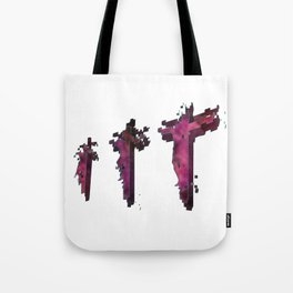 Three Crosses at Golgotha Tote Bag
