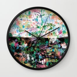 Forever optimistic #2 Wall Clock