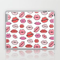 Lips Kiss Lipstick Love Laptop & iPad Skin