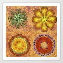 Orthogamy Surface Flower  ID:16165-113444-87980 Art Print