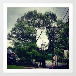 Weather the Storm Art Print