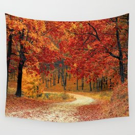 Autumn Landscape 1 | Paysage d'Automne 1 Wall Tapestry