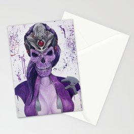 Widowmaker Skull Stationery Cards