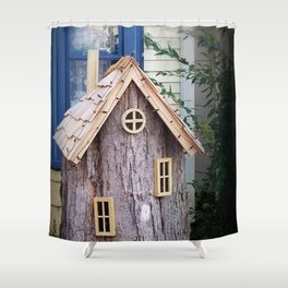Munny Pit Shower Curtain