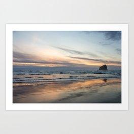 Pacific Glow Art Print