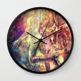 The King and The Sun Wall Clock