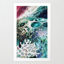Tide Art Print