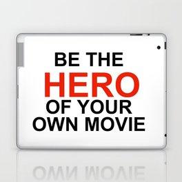 """Be the Hero of your own movie"" Joe Rogan Laptop & iPad Skin"