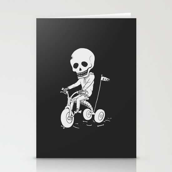 Death Kid Bone Ride Stationery Cards