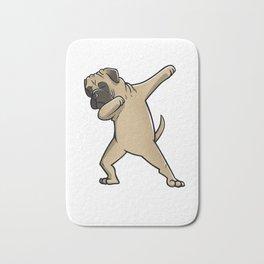 Funny Dabbing Bullmastiff Dog Dab Dance Bath Mat
