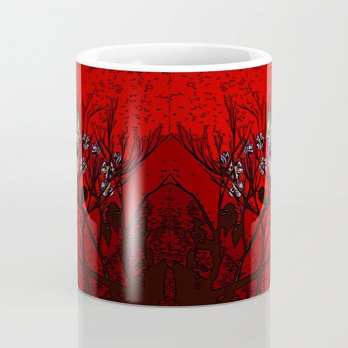 A bird in the bush Coffee Mug