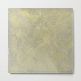 Modern Masters Metallic Plaster - Aged Gold and Silver Fox - Custom Glam Metal Print