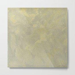 Modern Masters Metallic Plaster - Aged Gold and Silver Fox - Custom Glam Metal Print