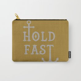 Hold Fast Gold/Silver Carry-All Pouch