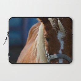 Renaissance Pony - Sorrel Blue Laptop Sleeve