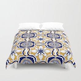 Portuguese Tiles Duvet Cover