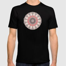 manDala MEDIUM Mens Fitted Tee Black