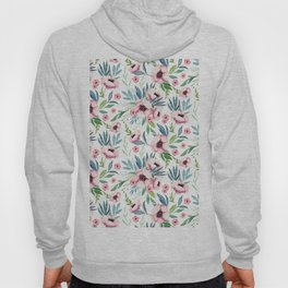 Flowers in Bloom Pattern Hoody