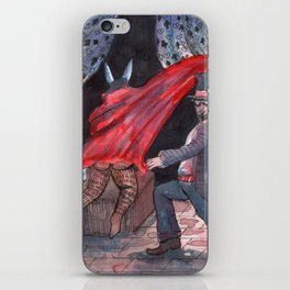 the gay mage iPhone Skin