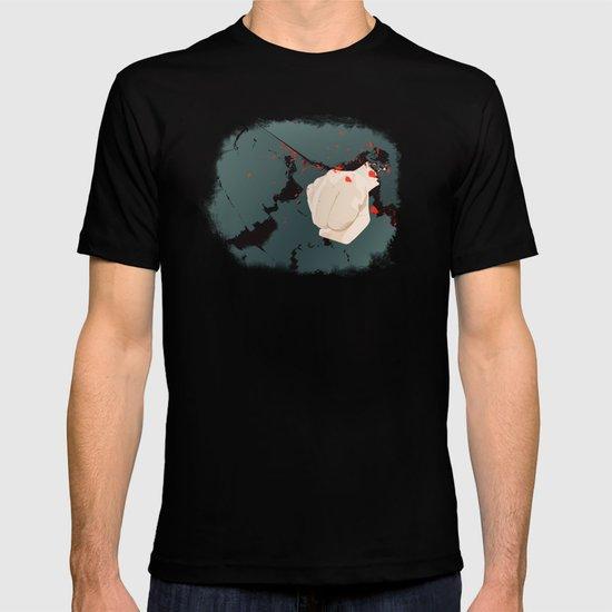 smashed T-shirt
