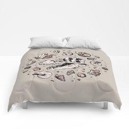 Geo-rex Vortex | Rose Quartz Comforters