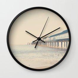 the sea ... Wall Clock