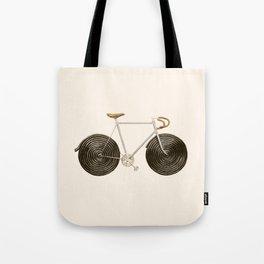 Licorice Bike Tote Bag