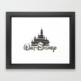Disney Castle  Framed Art Print
