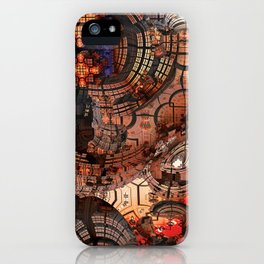 Fractal Art - Spaceship iPhone Case