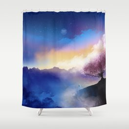 Why I should follow my heart? ♫ Shower Curtain