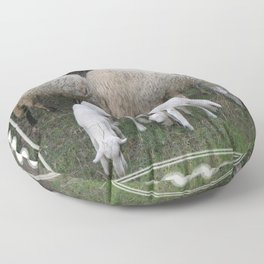 The Really Ewesful Company Floor Pillow