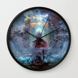 Uncontainable necromancer Wall Clock