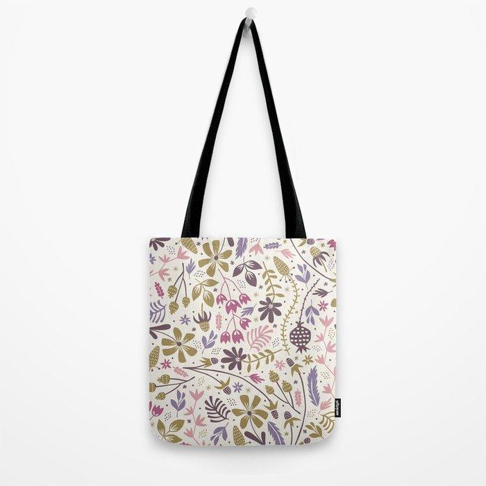 Vintage Blooms Tote Bag