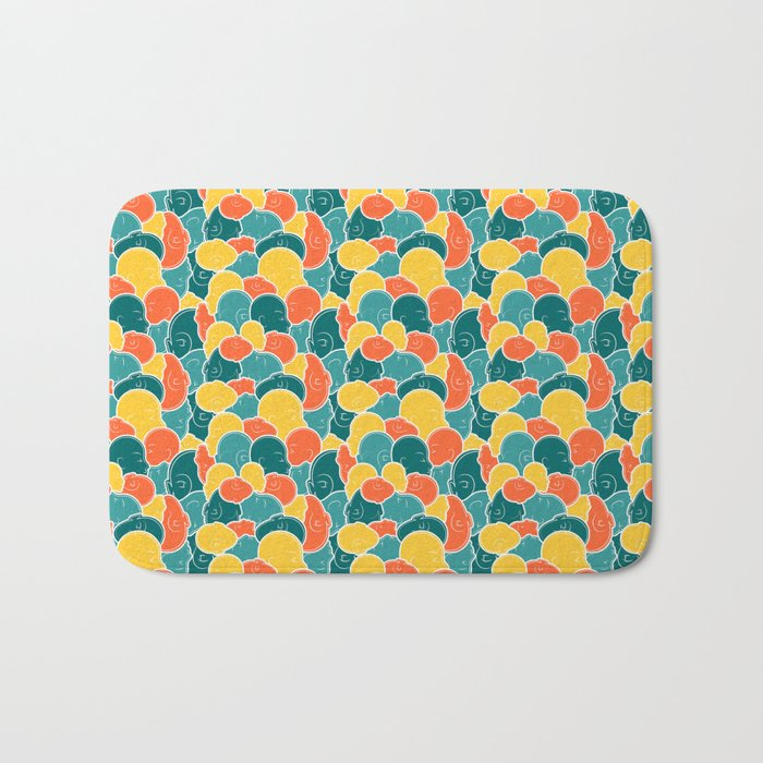 Smoosh Face Bath Mat
