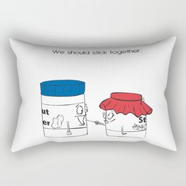 We Shoud Stick Together Rectangular Pillow