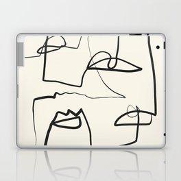 Abstract line art 12 Laptop & iPad Skin