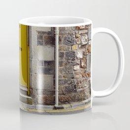 Yellow Door and Bike Coffee Mug