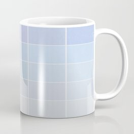 Pastel Square Gradient Pattern Coffee Mug