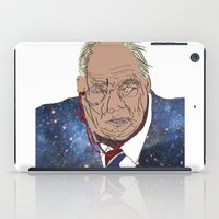 patrick iPad Cases featuring Patrick Moore by ochre7