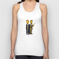 moriarty Tank Tops featuring Moriarty & Moran by San Fernandez