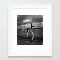 divergent Framed Art Prints featuring Divergent by Stephanie Massaro