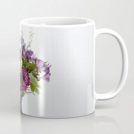 Floral Blue Vase Coffee Mug