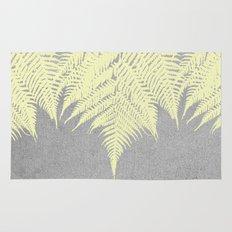 Concrete Fern Yellow Rug